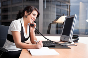 Contact center support